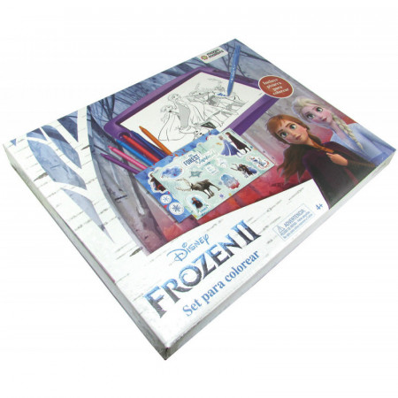 Set Para Colorear Frozen Ii Magic Makers En Caja Fro110