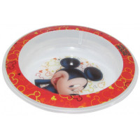 Bowl Cerealero Mickey Plástico 01mickey002