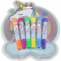 Bowl Pen X  6 Colores Unicornio/ck432 Blister