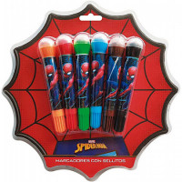 Bowl Pen 6 Colores Spiderman/ha575