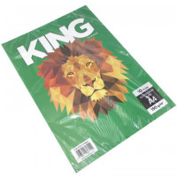 Papel Ilustracion King  A4 X 10 Hjs 150grs Mate  218394