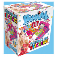 Fabrica De Stickers  Panam En Caja Full Color