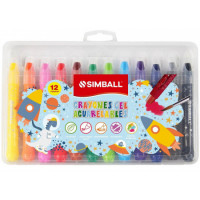 Crayones Simball Gel Acuarelables 12 Colores 0221039912