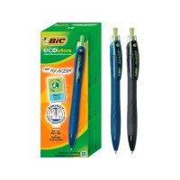 Boligrafo Bic  Reaction Eco X1  Azul  Ecolutions 1106272