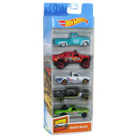 Auto Hot Wheels Super Paquete X5 En Caja 1806