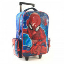 Mochila Carro  17 Spiderman  3d Con Luces  62338