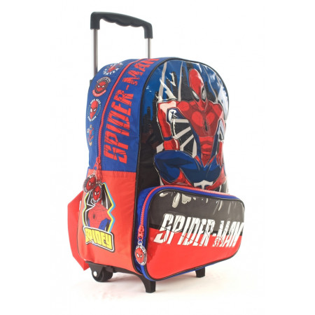 Mochila Carro  16  Spiderman Crime Fighter 62318