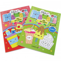 Libro Para Colorear Hola Kawaii Editorial Betina 2301