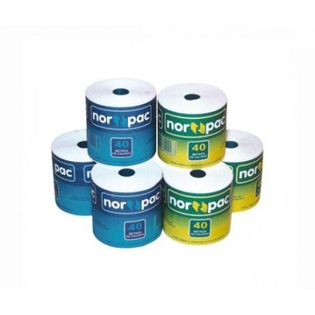 Rollos Norpac 60mm X 40 Mts .rn 6040