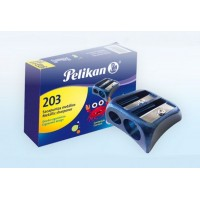Sacapunta Pelikan Metalico Doble 203  X Unid Color. Surt  014-000-040
