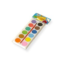 Acuarela Paleta   X 12  Colores Playcolor Bolsa 805001001950