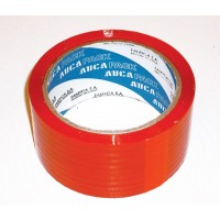 Cinta Aucapack Color Roja 48mm X 50mts