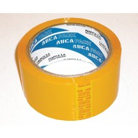 Cinta Aucapack Color Amarilla 48mm X 50mts