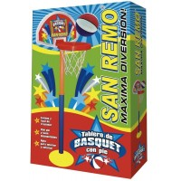 Tablero De Basquet Con Pie Plastico C/aro Y Red