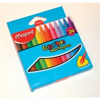 Crayones Plasticos X 24 Color Peps Smart/maped 861013
