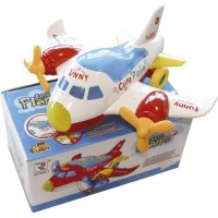 Avion Infant Musical/luces/3d/ Pilas  1220192 Caja