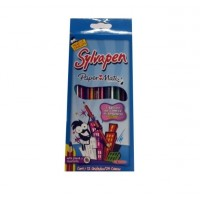 Lapices D/colores X 12 Doble Punta/24 Color/ Sylvapen/g_10458