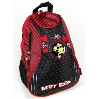 Mini Mochila Betty Boop Cord/rayad/c/estamp/coraz/bdi004