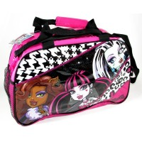 Bolso Oval Monster High Pvc C/lentej/ Mmh114