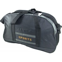 Bolso Sports  48 X 30cm  Cordura Color  5184  2 Tiras Bordado